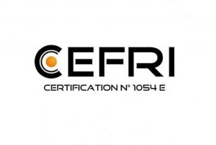 Suivi et maintien de notre certification par le CEFRI